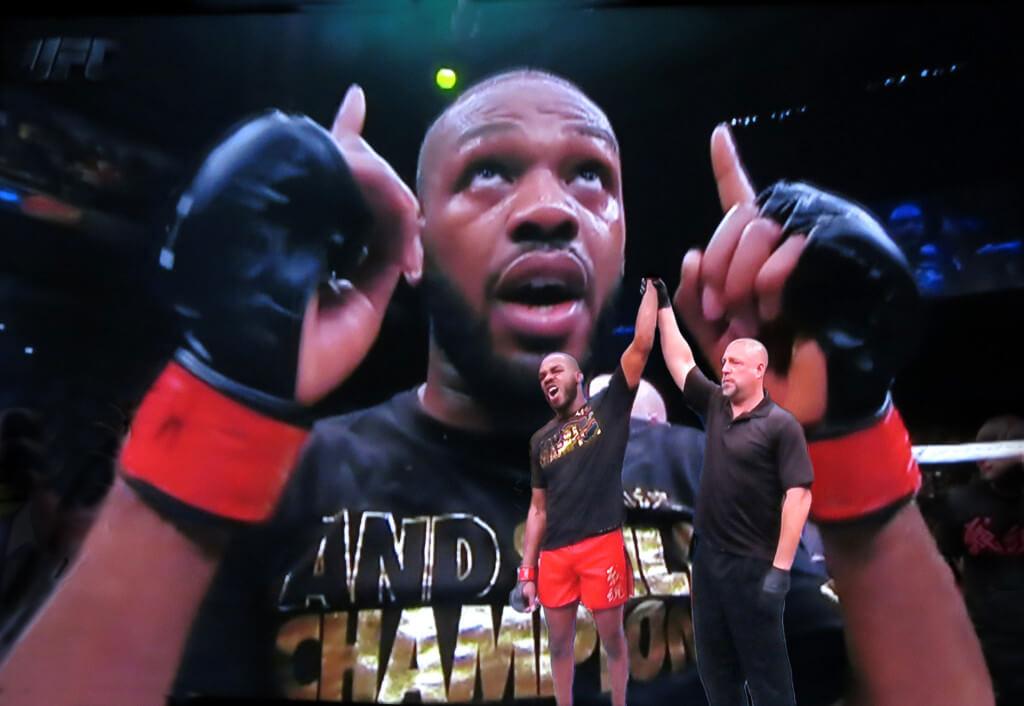 Robin Botie photoshops Jon Bones Jones winning UFC Light Heavyweight Championship