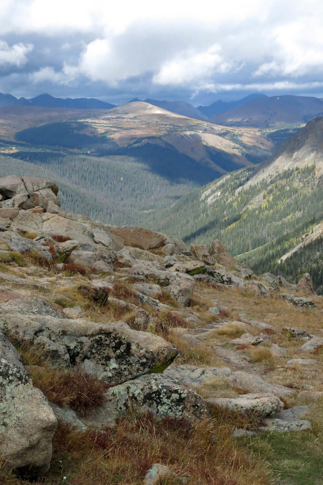 Robin Botie of Ithaca, New York, photographs on vacation in the Rocky Mountains
