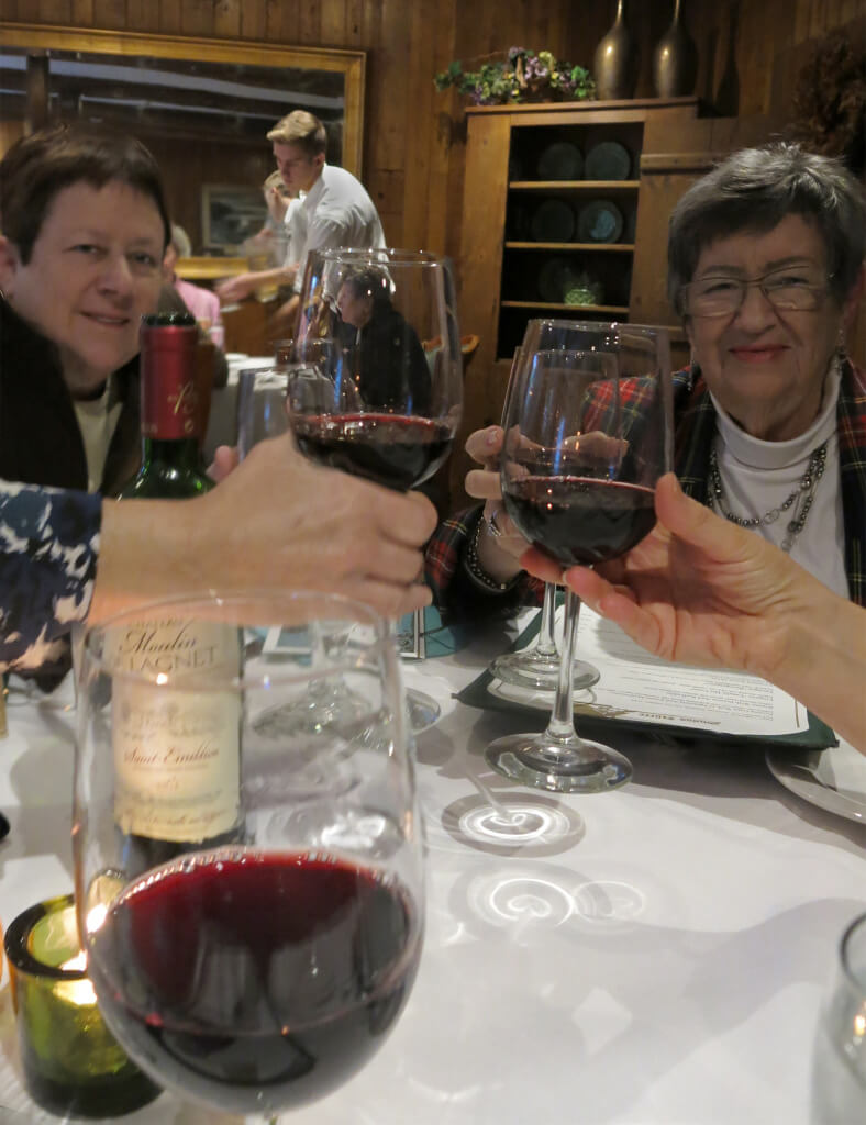 Robin Botie of ithaca, New York, makes rituals and toasts with sisters on their mother's 90th birthday.