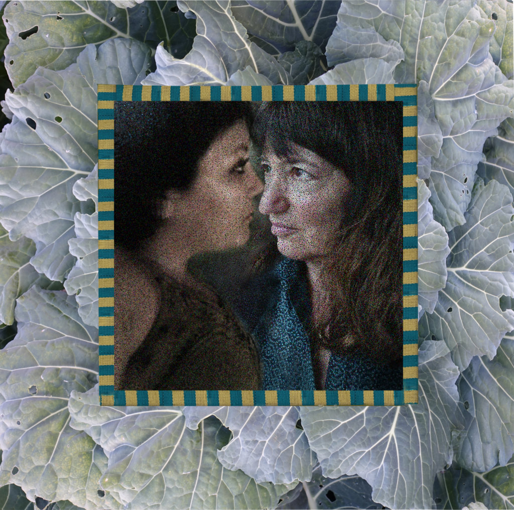 Robin Botie of Ithaca, New York, photoshops a collage of herself and her daughter's images to represent ongoing relationships with deceased loved ones.