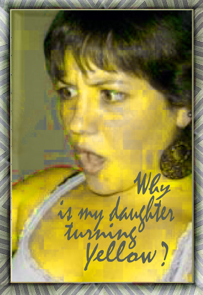 Duetting: Memoir 16 Robin Botie of Ithaca, New York asks, Why is my daughter turning yellow?""